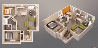 3d floor plans unifamilial arch student com