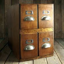 Vintage Oak Filing Cabinet Antique Wooden File Cabinets For Sale Antique Wood File Cabinets