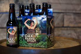 dominion dominion brewing updates branding for oak barrel stout brewbound com