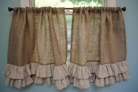 burlap curtains u2014 liberty interior rustic burlap curtains