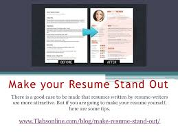 Examples On How To Make A Resume by How To Make A Resume Stand Out Haadyaooverbayresort Com