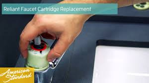 how to replace a cartridge for your reliant faucet youtube