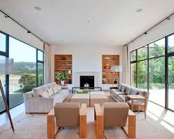 Modern Minimalist Living Room Houzz - Minimalist interior design living room