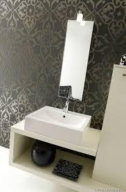 Designer Wallpaper For Bathrooms For Exemplary Bathroom Wallpaper - Designer wallpaper for bathrooms
