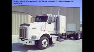 kenworth t2000 for sale 2006 kenworth t800 cab u0026 chassis for sale from used truck pro 866