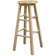 29 Inch Bar Stool Amazon Com Linon 29 Inch Barstool With Round Seat Kitchen U0026 Dining