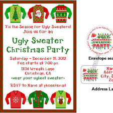 sweater invitation wording ideas birthday