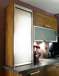 Kitchen Cabinet Door Storage Roll Up Door Cabinet Musicalpassion Club
