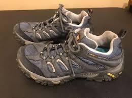 merrell womens boots size 11 merrell womens size 11 moab ventilator smoke blue gray hiking