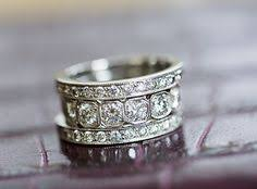 Stacked Wedding Rings by Mismatched Stacked Wedding Bands Wedding Rings Pinterest