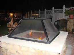 Firepit Screen Pit Screens Square