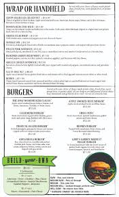 woodpeckers pub u0026 eatery menu u2014