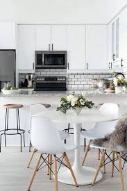kitchen seating ideas all white kitchen design ideas
