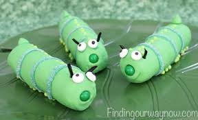 marshmallow caterpillars recipe finding our way now