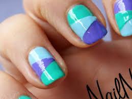 16 three colour nail designs stylepics