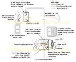 how to wire an attic electrical outlet and light with wiring