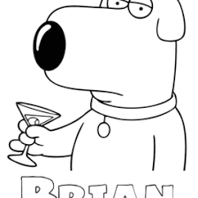 coloring page family guy kids drawing and coloring pages marisa