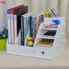 Office Desk Storage Modern Fashion Office Desk Organizer Diy Wooden Storage Box