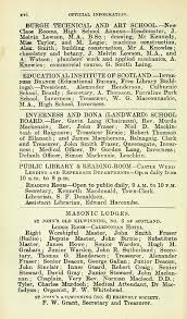 bureau invers 32 scottish post office directories towns inverness 1899
