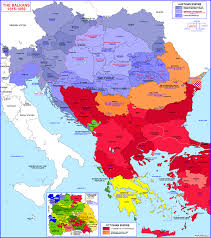 Map Of Ottoman Empire Historical And Political Maps Of The Balkan States