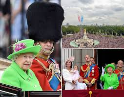 queen u0027s 90th birthday celebrations trooping colour