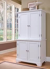 kitchen elegant white kitchen hutch cabinet girls desk with