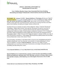 houzz u201cbest of 2016 u201d press release u2013 special additions inc