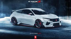 honda civic 2017 type r this is what the new honda civic type r should look like autoweek