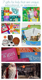 sentimental gifts for not your average gift guide for kids 7 gifts for kids that are