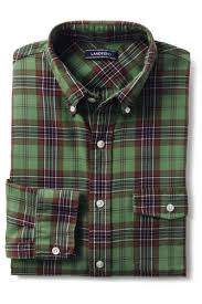 Most Comfortable Flannel Shirt Men U0027s Flagship Flannel Shirt From Lands U0027 End