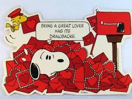 snoopy valentines day laminated snoopy s day wall decor snoopn4pnuts