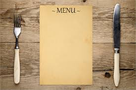 menu template menu templates