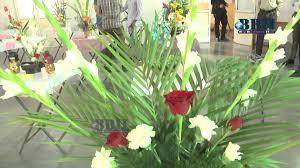 Flower Arrangement Techniques by 15th Flower Arrangement Competition Hyderabad 2015 Youtube