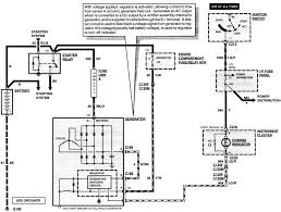 motor wiring ford alternator wiring diagram internal regulator