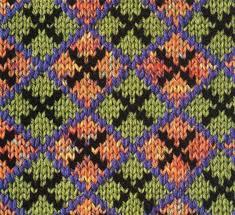 jacquard argyle chart 2 knitting bee