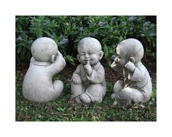 Home Decor Buddha Statue Large Solar Garden Statues Home Outdoor Decoration