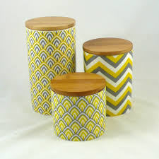 retro canisters kitchen uncategorized yellow kitchen canisters outstanding inside finest