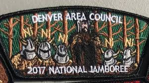 2017 national jamboree patches feature big name brands