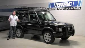2000 land rover green land rover discovery ii midwest auto collection video review with