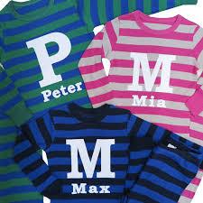 personalized pajamas flower pajamas ring bearer