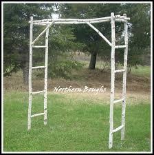 Wedding Arch Garden White Birch Wedding Arch Kit Northern Boughs Online Store