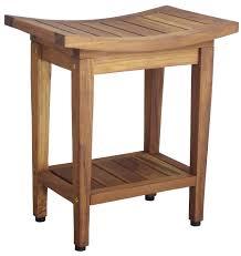 Wooden Bench For Shower Aqua Teak Wayfair