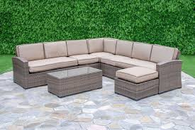 Deep Seating Patio Darby Home Co Candor 7 Piece Deep Seating Group With Cushions