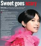 Here's a snip from Yasmin Lee Arpon's feature for Sunday Leisure: - leisure20090621