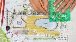 backyard plan landscape architect designs backyard plan with pool for luxury villa