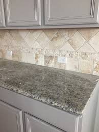 Kitchen Backsplash Ideas With Santa Cecilia Granite Gray Kitchen Cabinets Travertine Backsplash Santa Cecilia Light
