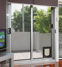 Patio Door With Pet Door Built In 11 Extraordinary Home Depot Sliding Glass Doors Snapshot Ideas