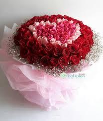 roses bouquet lb0096 99 heart shape roses bouquet floral d mora 花之屋语