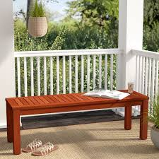 Eucalyptus Bench - beachcrest home elsmere eucalyptus picnic bench u0026 reviews wayfair