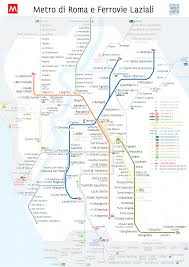 Mole Map Unofficial Map Roman Metro And Suburban Rail Map Transit Maps